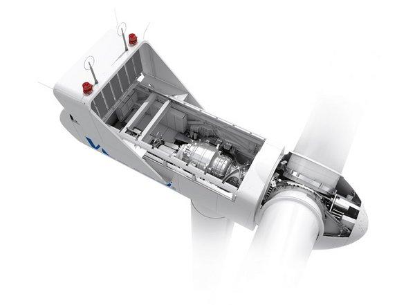 3D Bild Windkraftanlage